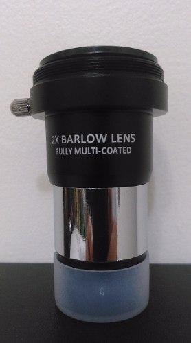 Lente Barlow 2x Para Telescopio.