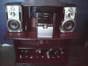 Mueble para TV Equipo de Sonido