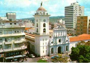 Postal De Caracas Vista Aerea De La Catedral, Vintage 70 ´s