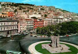 Postal De Napoli Italiana Vintage