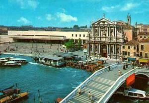 Postal De Venecia Italia 70´s Vintage