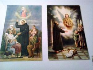 Serie De 10 Postales Sobre La Vida De San Juan De Dios