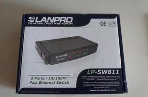 Switch Lanpro De 8 Puertos