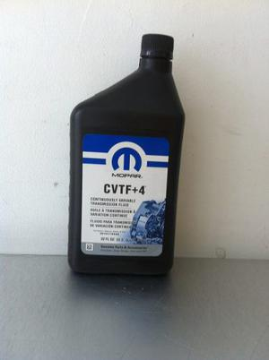 Aceite Cvtf+4 1lt Dodge Caliber Jeep Compass Mopar Sp