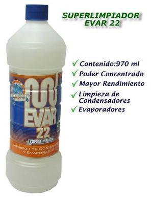 Acido Limpiador De Aire Acondicionado Evar 22