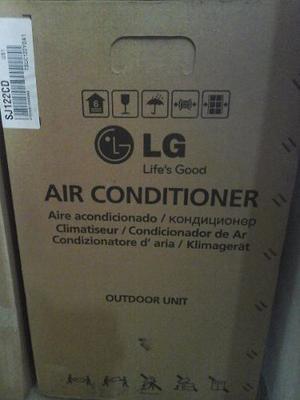 Aire Acondicionado Lg Nuevo, 18 Mil Btu, Tipo Split, V220