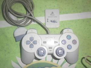 Control Y Memory Card Para Playstation 1