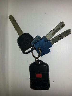 Llaves Para Honda Civic  Control Alarma