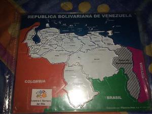 Plantilla Del Mapa De Venezuela Con Estados