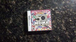 50 More Classic Games (juego De Ds Como Nuevo)
