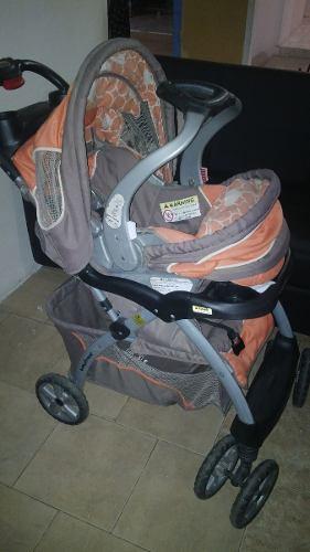 Coche Y Porta Bebe Y Base Para Carro Babytrend Travel System