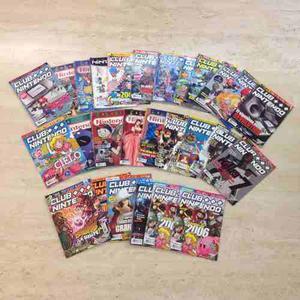 Colección De Revistas Club Nintendo Todas