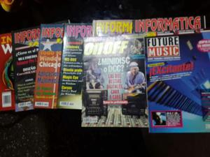 Combo 6 Revistas Informática Y 2 De Audio Y Música Digital