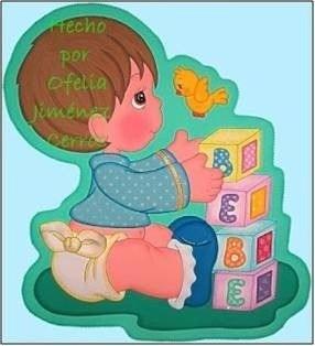 Foami Patrones Bebes