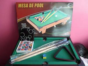 Mesa De Pool Profesional Jeidy Toys Pequeña Niños Familiar