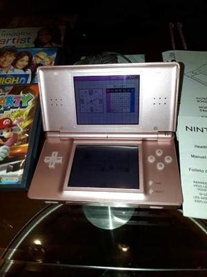 Nintendo Ds Lite + 4 Juegos