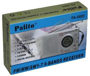 Radio Am Y Fm Reloj Despertador Portatil Digital