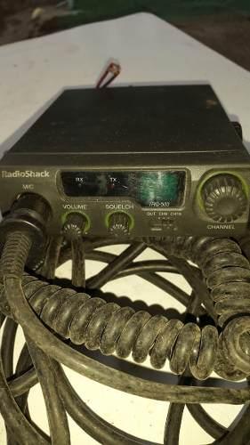 Radio Trasmisor Con Su Cable De Antena