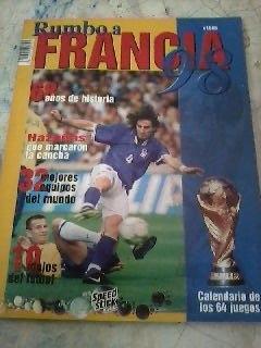 Revista De Futbol Rumbo Francia