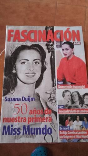 Revista De Ssusana Duijm La Primera Mis Mundo De Venezuela