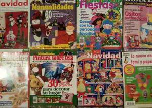 Revistas De Manualidades (full Variadas, Físicas No