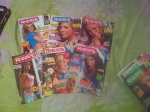 Revistas De Rebelde - Lote De 6