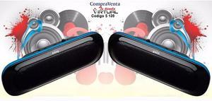 Speaker Cornetas Portátil Usb Pila Recargable 5 Watts