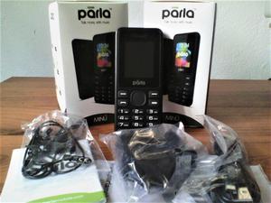 Telefono Celular Doble Sim PARLA Basico Camara Radio
