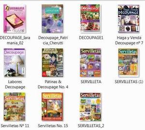 _11 Revistas De Decoupage Mas Regalo (lote 2)
