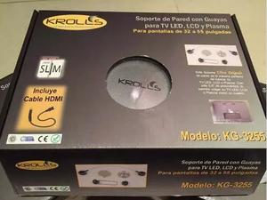 Base Fija Para Tv De 32 A 55 Con Cable Hdmi Krolls