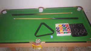 Mesa De Pool Grande Tipo Profesional Para Niños Jeidy Toys
