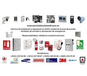 Reparacion recarga instalacion de iluminacion de emergencia