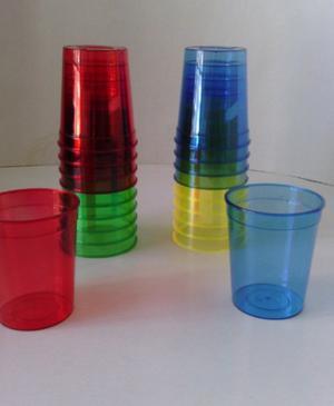 Vasos Tequileros De Plástico