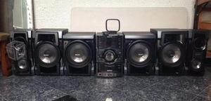 Equipo De Sonido Sony Genezi Hcr- Gtr- 77 (6 Cornetas)