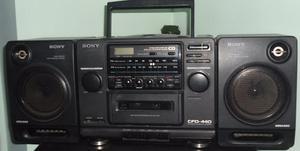 Equipo De Sonido Sony Vintage De Cassette,cds, Radio