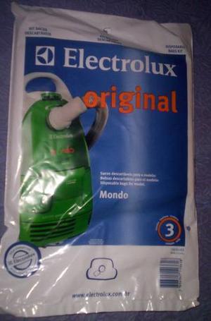 Bolsas Para Aspiradora Electrolux Mondo Clean
