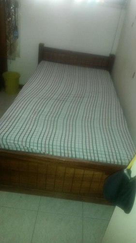 Vendo gavetero de madera con espejo caracas posot class for Vendo cama individual