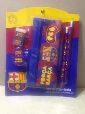 Cartuchera Del Barcelona