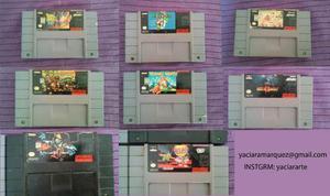 Cintas/juegos De Super Nintendo