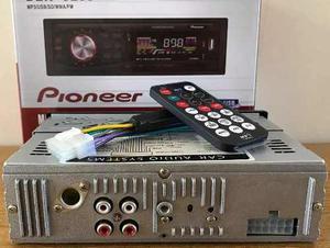 Reproductor De Carro Pioneer Usb Sd Aux Mp3 Wma Radio