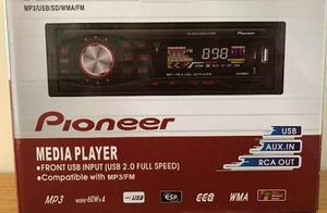 Reproductor Pioneer Para Carro. Usb/aux/sd/mp3/radio Oferta
