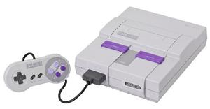 Super Nintendo + 2 Controles + 3 Juegos