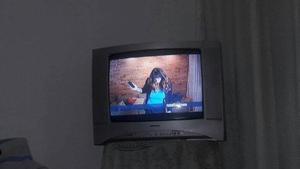 Televisor De 21 Pulgadas Marca Toshiba Con Su Control