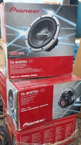 Vendo Par De Bajos Pioneer Ts-w307d4 Nuevos