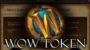 World Of Warcraft Token, Prepaid, Gold.