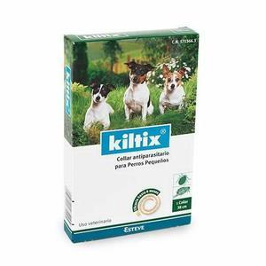 Collar Kiltix Antipulgas Bayer 6 Meses Perros Pequeños