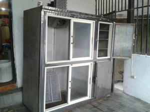 Nevera Exhibidora De 6 Puertas Con Congelador