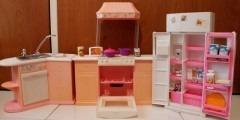 Accesorios De La Barbie, Cocina, Comedor Y Oficina