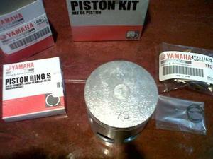 Kit De Piston Original Yamaha Para Rxz135 Standar,