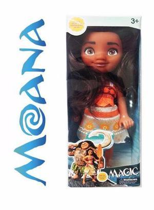 Muñeca Moana Bebe Princesa Juguete Niña 16cm Juguetes